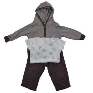 Carter's Baby Boys 3 Pcs Set Jacket,Shirt & Pants